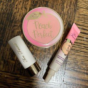 Too Faced Peach Perfect mini set